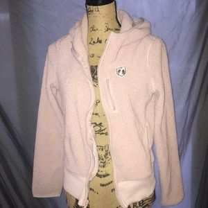 American Eagle outfitters fleece hooded jacket M